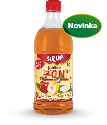 Sirup ZON jablko 0,7l