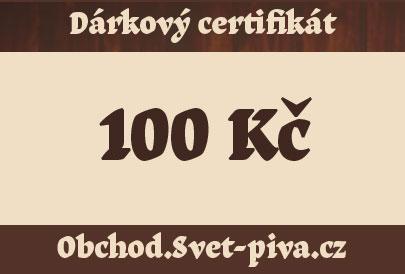 Dárkový poukaz 100 Kč