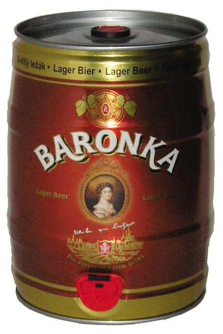 Žatec Baronka v 5l soudku