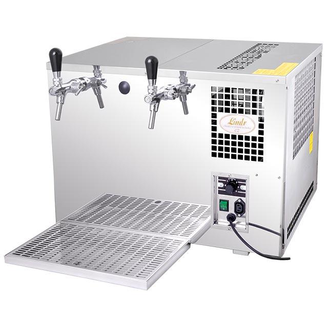 Výčepní zařízení AS-110 INOX 2xkohout