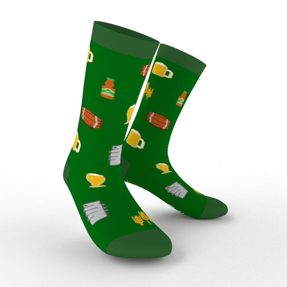 Pivní ponožky domovarník