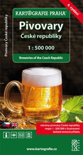 Mapa pivovarů České republiky + brožura