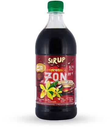 Sirup ZON Espresso 0,7l