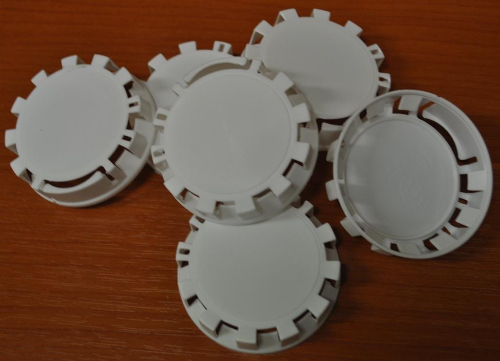 Plombovací víčko na KEG plochý+kombi bílá