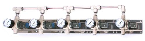 Panel - regulace tlaku 5st.