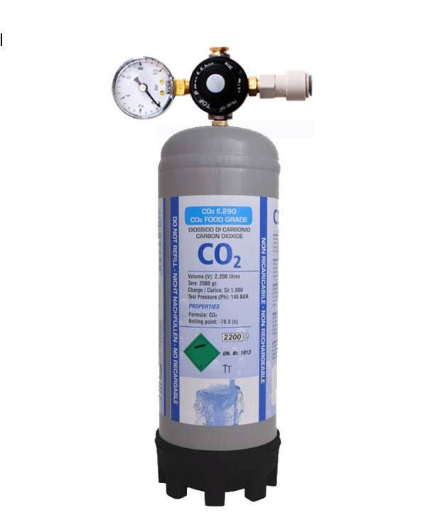Bombička CO2 1000g kompletní sestava