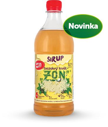 Sirup ZON bezový květ 0,7l