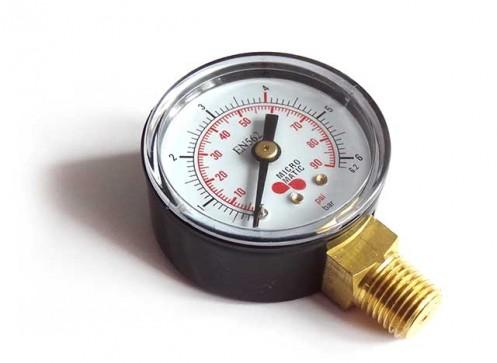 Manometr pracovního tlaku CO2, N2
