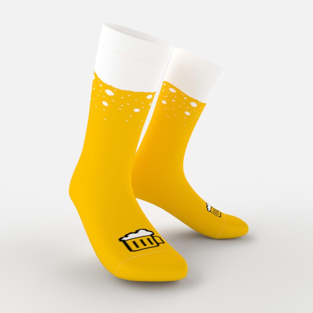 Pivní ponožky Beer