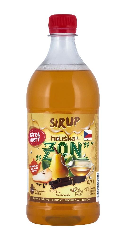 Sirup ZON hruška 0,7l