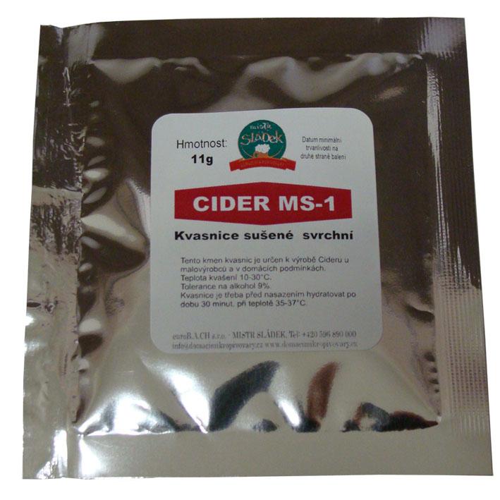 Kvasnice sušené svrchní - Cider MS-1