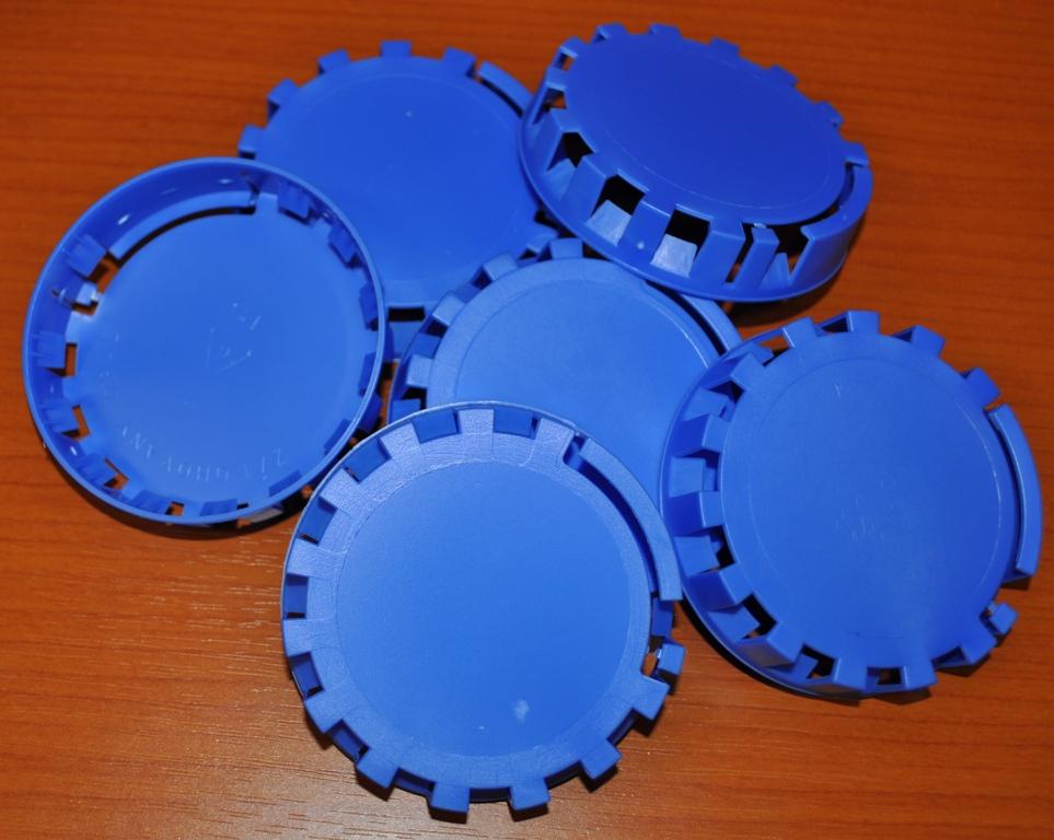 Plombovací víčko na KEG plochý+kombi modrá
