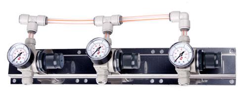Panel - regulace tlaku 3st.