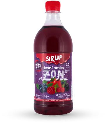 Sirup ZON lesní směs 0,7l
