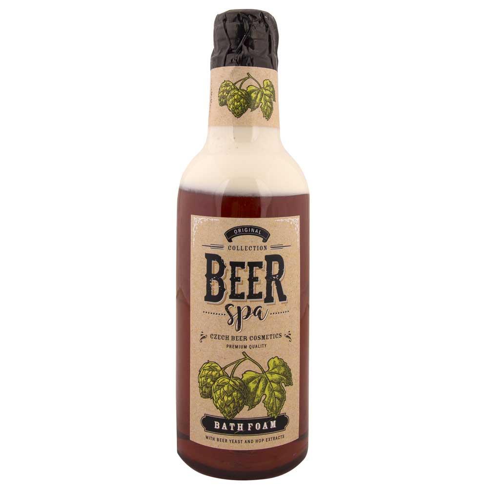Beer Spa Pivní koupelová pěna tmavá