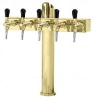 Výčepní stojan LINDR T5 - zlato