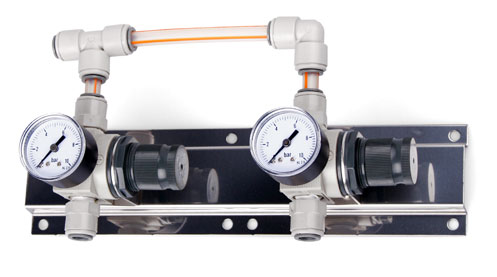 Panel - regulace tlaku 2st.