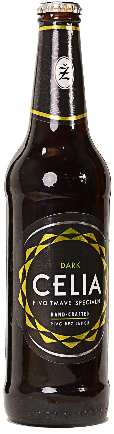 Žatec Celia Dark bezlepkové pivo