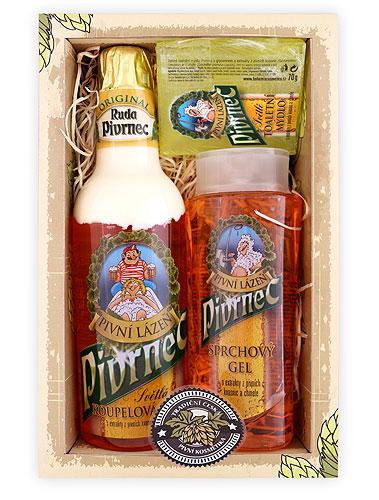 Dárkové balení pivní kosmetiky Pivrnec 2