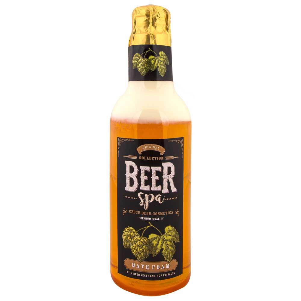 Beer Spa Pivní koupelová pěna světlá