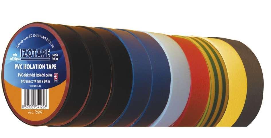 PVC izolační páska 0,13 mm x 15 mm x 10m