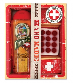 Dárkové balení pivní kosmetiky Pivrnec - Vyproštovák 2